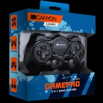 Canyon 3in1 wired controller gamepad, hand-cooling, vibration feedback, d