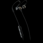 Canyon Bluetooth sport earphones with microphone, 0.3m cable, black