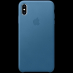 Apple iPhone XS Max Leather Case - Cape Cod Blue, Model