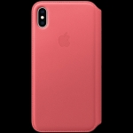 Apple iPhone XS Max Leather Folio - Peony Pink, Model