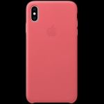 Apple iPhone XS Max Leather Case - Peony Pink, Model