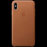 Apple iPhone XS Max Leather Case - Saddle Brown, Model