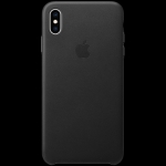 Apple iPhone XS Max Leather Case - Black, Model