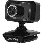 Canyon Enhanced 1.3 Megapixels resolution webcam with USB2.0 connector, c