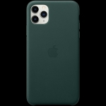 Apple iPhone 11 Pro Max Leather Case - Forest Green