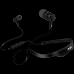 Sven Wireless In-ear stereo earbuds with microphone SVEN E-215B, black, S
