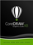 Corel DRAW Graphics Suite X8  CZ/PL Upgrade  BOX