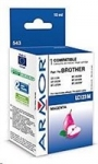 Armor cartridge pro BROTHER MFC J 4510, Magenta 10ml, (LC123M)