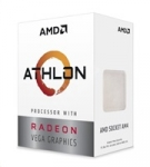 AMD CPU AMD Athlon 200GE (Raven Ridge), 2-core, 3.2GHz, 5MB cache, 35W, s