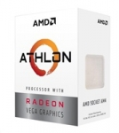 AMD CPU AMD Athlon 3000G, 2-core, 3.5GHz, 5MB cache, 35W, socket AM4, VGA