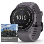 Garmin fenix6S PRO Solar, Amethyst/Shale Band (MAP/Music)