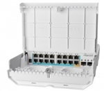 Mikrotik Cloud Router Switch CRS318-1Fi-15Fr-2S-OUT, 800MHz CPU, 256MB, 1