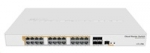 Mikrotik Cloud Router Switch CRS328-24P-4S+RM, 800MHz CPU,512MB RAM, 24xL