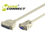 Microconnect ModemCable DB9-DB25 3M  F/M