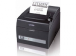 Citizen CT-S310II, USB, Ethernet Black