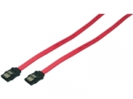 Logilink S-ATA Cable with latch, 2x mal