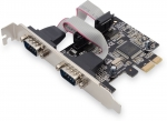 Intel 2x Serial interface card, PCIe