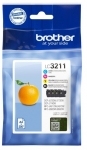 Brother LC3211VALDR VALUE PACK (LC3211 BK/C/M/Y)