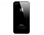 Apple Backcover for Apple iPhone4 black