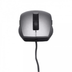 Dell Mice : Dell Laser Scroll USB (6 Buttons) Silver and Black Mouse (Kit