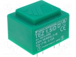 Breve tufvassons TEZ1.5/D230/12V / Transformer: encapsulated; 1.5VA; 230V