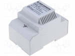 Breve tufvassons PSS50/230/12V / Transformer: safety; 50VA; 230VAC; 12V;