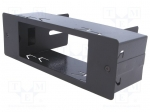 4carmedia / Mounting half frame for CB radio; 1 DIN; Cobra