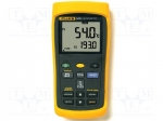 Fluke FLUKE 54 / Temperature meter; double LCD; -200÷1372°C; Resol:0.1