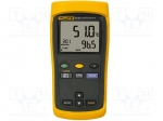 Fluke FLUKE 51 / Temperature meter; double LCD; -200÷1372°C; Resol:0.1