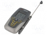 Temperature meter; LCD; Sampling:1x/s; -50÷300°C; Probe l:105mm