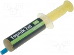 Ag termopasty / Flux: rosin based; RMA; gel; syringe; 14ml; SMD soldering