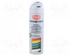 CRC 10162-AB / Paint; white; spray; MARKER PAINT; Application: marking; 5