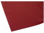 4carmedia / Acoustic cloth; 1.4x0.7m; dark red