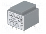 Breve tufvassons TEZ0.5/D230/24-24V / Transformer: encapsulated; 0.5VA; 2