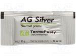 Ag termopasty AG SILVER 0,5G / Heat transferring paste; silver; silicone+