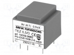 Breve tufvassons TEZ0.5/D230/9V / Transformer: encapsulated; 0.5VA; 230VA