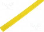 Radpol RC8/2 / Heat shrink sleeve; 8mm; L:1m; 4:1; yellow