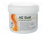 Ag termopasty AG GOLD 100G / Heat transferring paste; copper; silicone +
