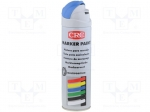 CRC 10160-AB / Paint; blue; spray; MARKER PAINT; Application: marking; 50