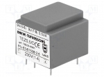 Breve tufvassons TEZ0.5/D230/9-9V / Transformer: encapsulated; 0.5VA; 230