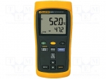Fluke FLUKE 52 / Temperature meter; double LCD, with a backlit; -200÷137