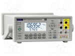 Aim-tti 1908P / Benchtop multimeter; LCD 5,5 digit 17mm, LCD 6 digit 10mm