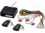 2 remote controls, drivers; Security system: remote control