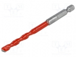 Alpen-maykestag 0027200400100 / Drill bit; wood, brick type materials, me