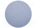 3M 961M P D127MM / Wipe: micro abrasives material; Colour: lavender; Base