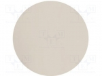 3M 661X 05MIC D D127MM / Wipe: micro abrasives material; Colour: white; P