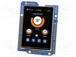 "4d systems 4DUINO-24 / Display: TFT; 2.4""; 240x320; Window dimensions:48."