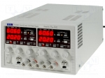 Aim-tti / Pwr sup.unit: laboratory; Channels:2; 0÷60VDC; 0÷20A; 0÷60VD