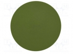3M 461X 30MIC SIC D127MM / Wipe: micro abrasives material; Colour: green;