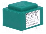 Breve tufvassons TEZ1.5/D230/10.5V / Transformer: encapsulated; 1.5VA; 23